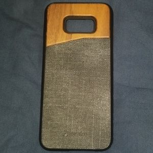 S8 PLUS NWT Wood Panel case with screen cover